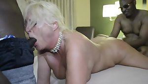 Milf Wife Gets Gangbanged Off out of one's mind King Cure And His Buddies