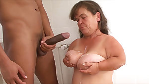 mature petite pre-eminent bbc interracial lesson