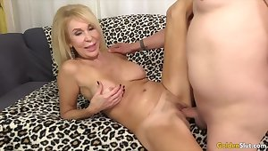Golden Slut - Astounding Adult Blondes Getting Drilled Compilation Part 7